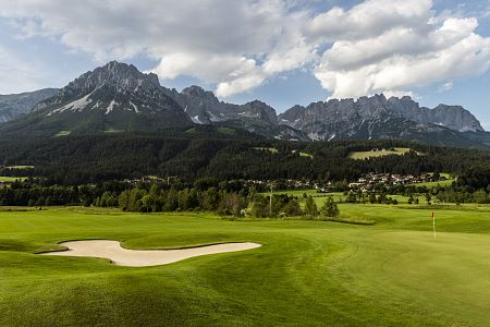 Golfen in Tirol - Ellmau am Wilden Kaiser