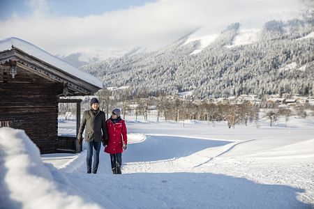 Winterwandern am Wilden Kaiser